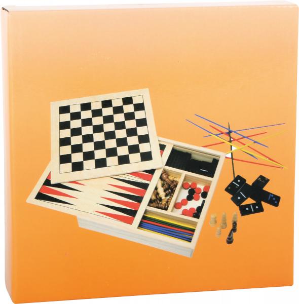 Colectia de 4 jocuri clasice din lemn 1