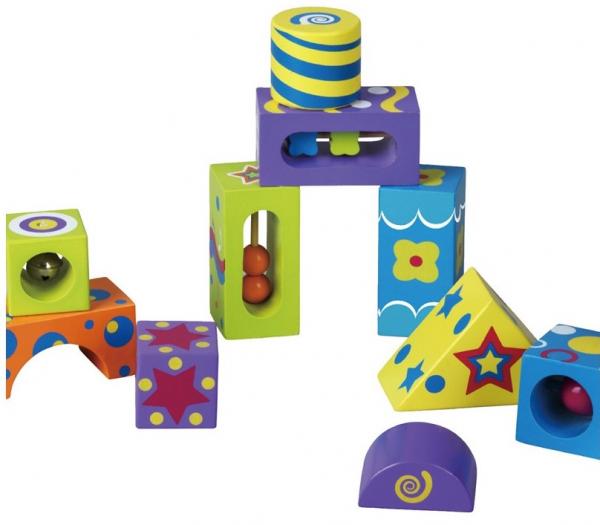 Cuburi de construit cu sunete 3