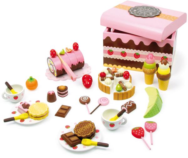 Candy Bar, cutia cu dulciuri, din lemn 0