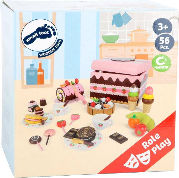 Candy Bar, cutia cu dulciuri, din lemn 2