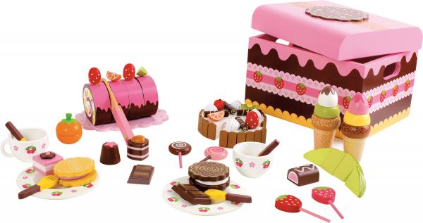 Candy Bar, cutia cu dulciuri, din lemn 3