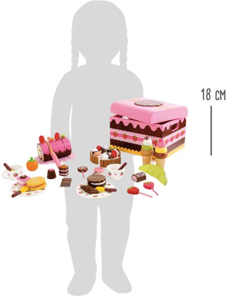 Candy Bar, cutia cu dulciuri, din lemn 8