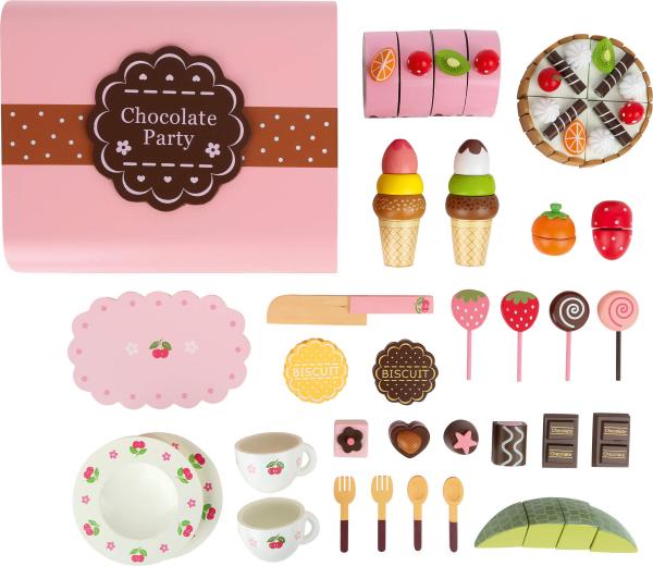 Candy Bar, cutia cu dulciuri, din lemn 1