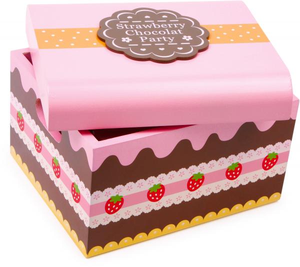 Candy Bar, cutia cu dulciuri, din lemn 4