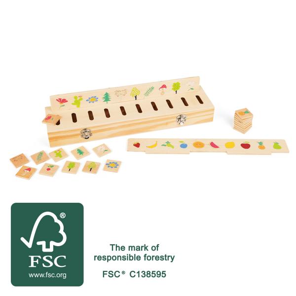 Joc sortator imagini, tip Montessori [6]