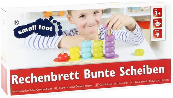 Discuri colorate Invatam sa numaram 1