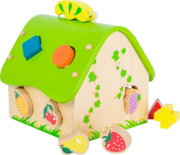 Casa Fructelor, jucarie cu forme 2