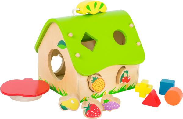 Casa Fructelor, jucarie cu forme 1