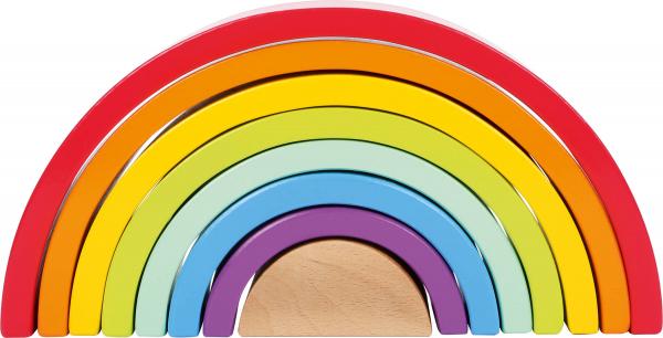 Curcubeu Montessori Mare, din lemn 1