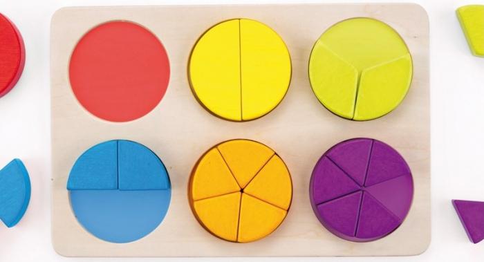 Fractii, puzzle educativ 4