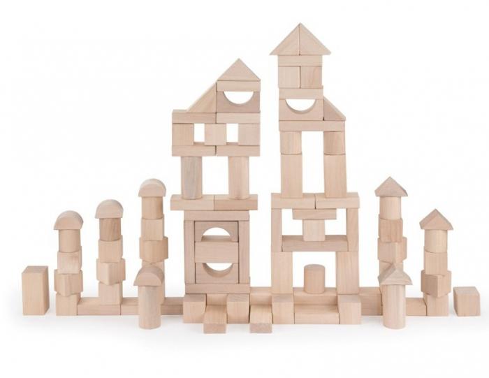 Maxi Galetusa cu 100 cuburi lemn 4