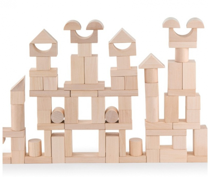 Maxi Galetusa cu 100 cuburi lemn 1