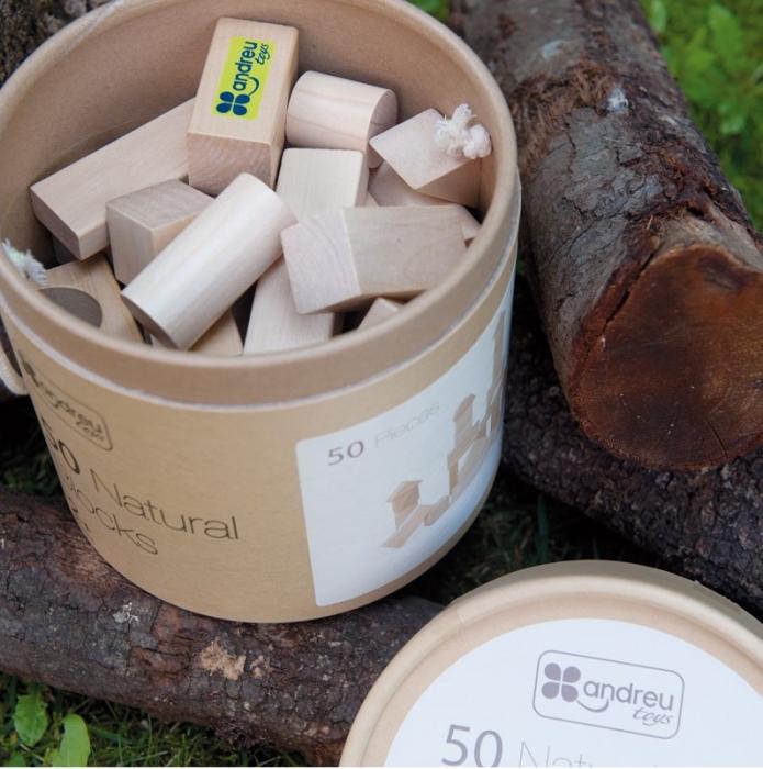 Galetusa cu 50 cuburi lemn 4