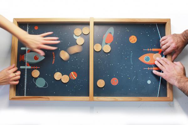Joc de exterior din lemn Duelul Spatial [4]
