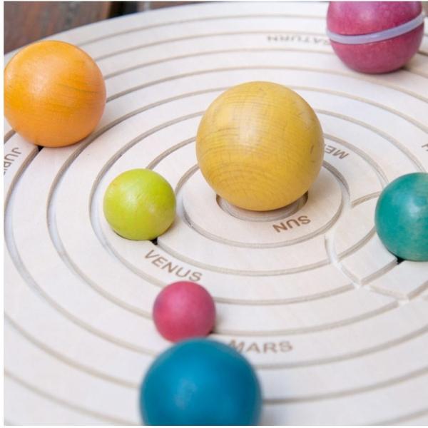 Sistemul solar 3D, joc educativ din lemn 6