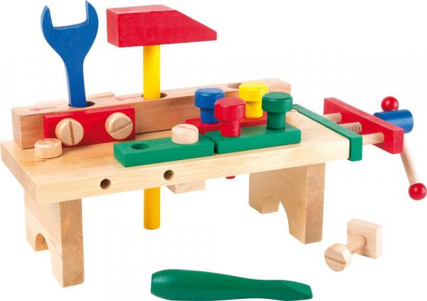 Masuta de lucru cu unelte din lemn 0