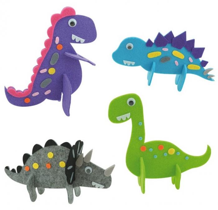 Joc confectionat Dinozauri din Fetru [2]
