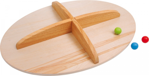 Placa de echilibru copii din lemn, Montessori [1]