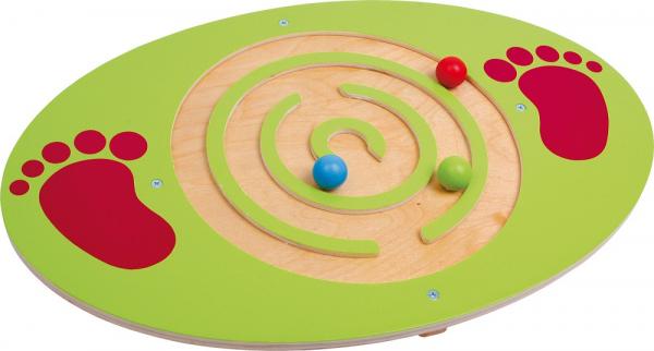 Placa de echilibru copii din lemn, Montessori [0]