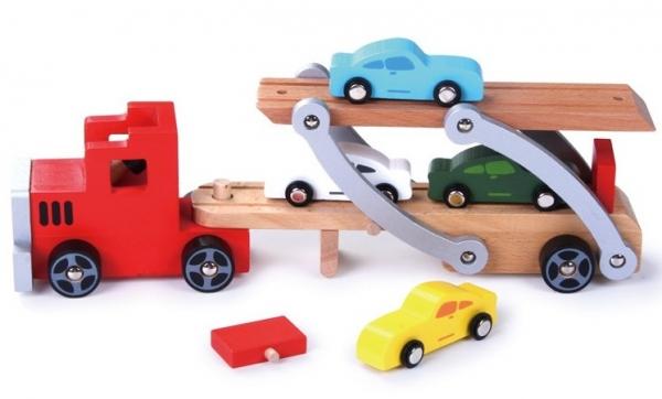 Platforma transport masinute din lemn 0