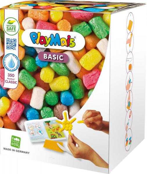 Pufuleti PlayMais® BASIC MEDIUM, Set de activitati creative 0