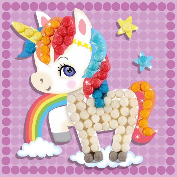 Pufuleti PlayMais® MOSAIC DREAM Unicorn, Set de activitati creative [3]