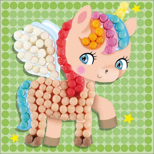 Pufuleti PlayMais® MOSAIC DREAM Unicorn, Set de activitati creative 1