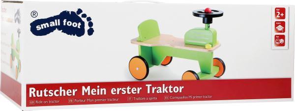 Primul meu tractor, vehicul din lemn [1]