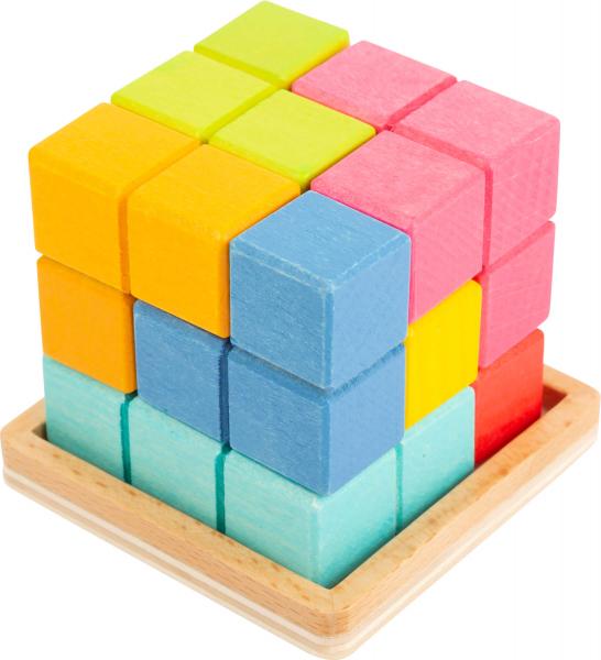 Puzzle 3D Cub Tetris 4