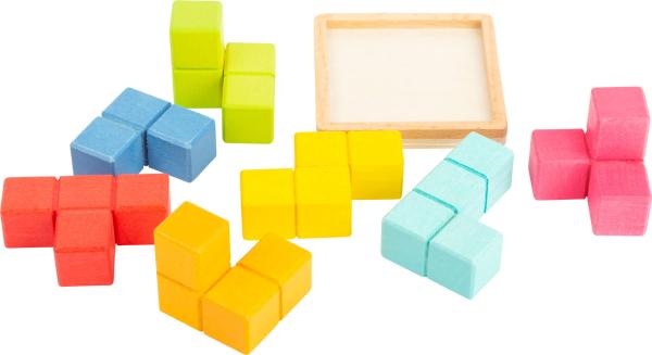 Puzzle 3D Cub Tetris 3