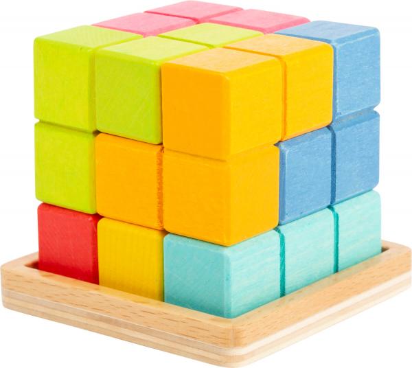 Puzzle 3D Cub Tetris 0