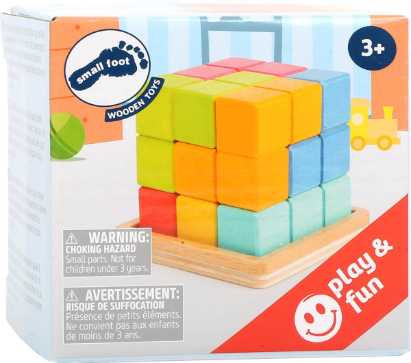Puzzle 3D Cub Tetris 2