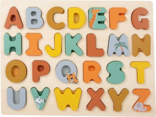 Puzzle alfabet Safari 0