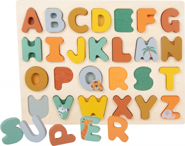 Puzzle alfabet Safari 1