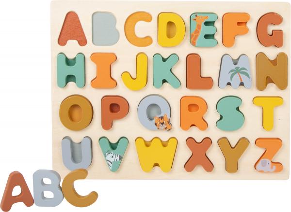 Puzzle alfabet Safari 2