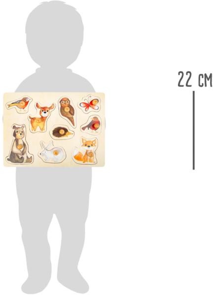 """Puzzle"""" Animalele Padurii"""" din lemn [2]"""