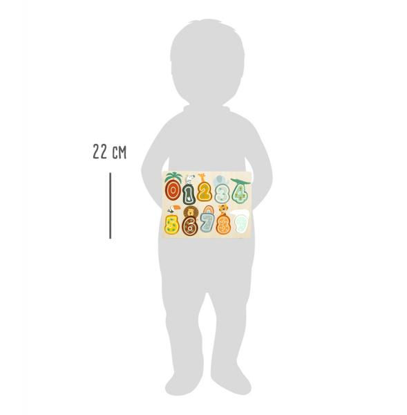 Puzzle cifre Safari 2