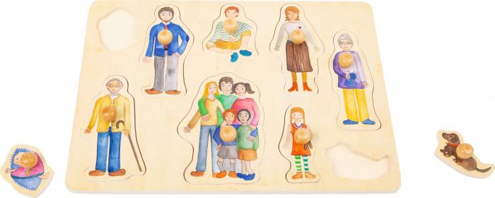 Puzzle incastru Familia si Prietenii [1]