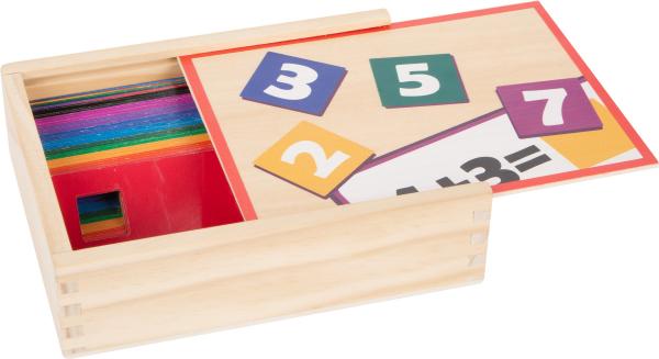 Joc educativ din lemn Adunarea si Scaderea 1