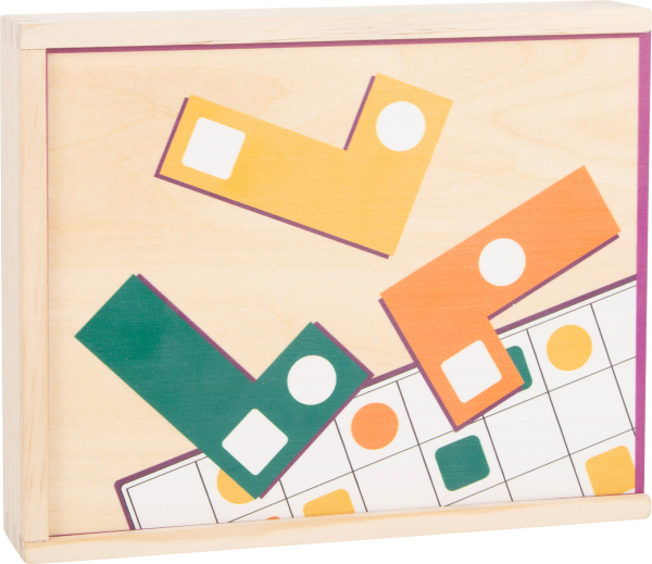 Joc Tetris din lemn - Sa aranjam formele geometrice 4