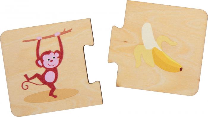 Ce mananca animalele? Puzzle in cutie 3