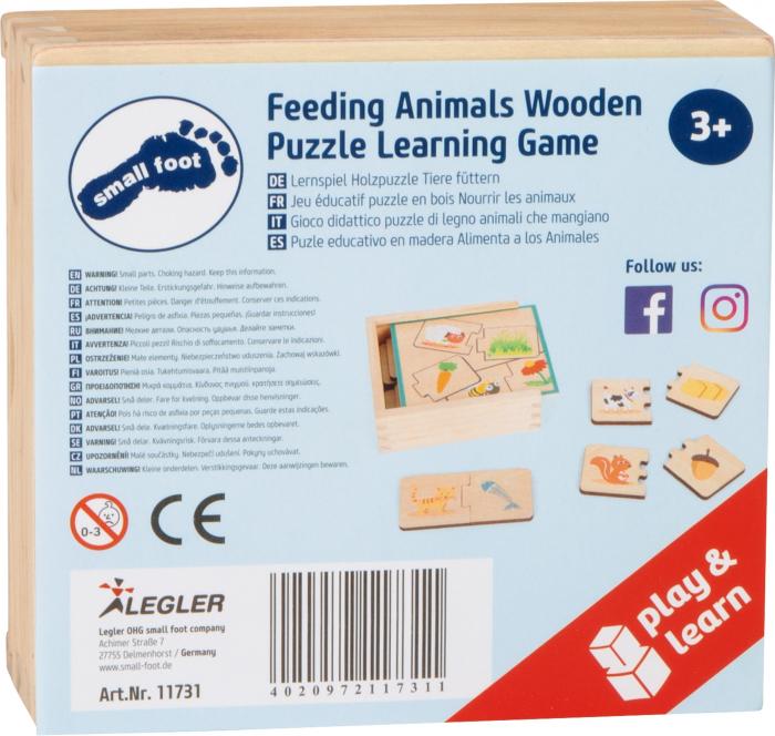 Ce mananca animalele? Puzzle in cutie 5