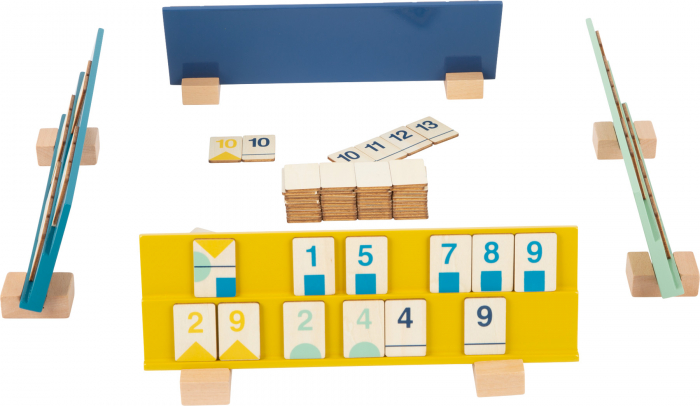 Rummy, jocul cifrelor, in culori pastel 3