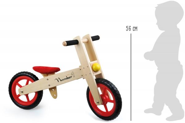 Bicicleta de echilibru din lemn 2