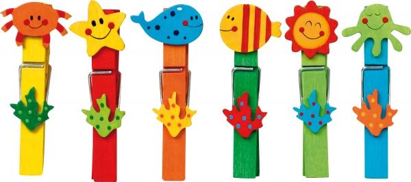 Set carlige cu diferite forme amuzante-24 de bucati 3
