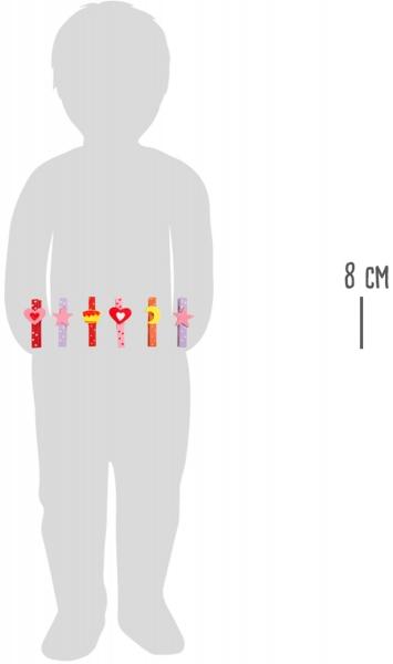 Set carlige cu diferite forme amuzante-24 de bucati 4
