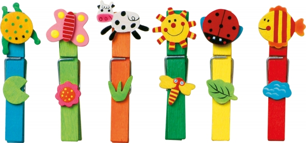 Set carlige cu diferite forme amuzante-24 de bucati 1