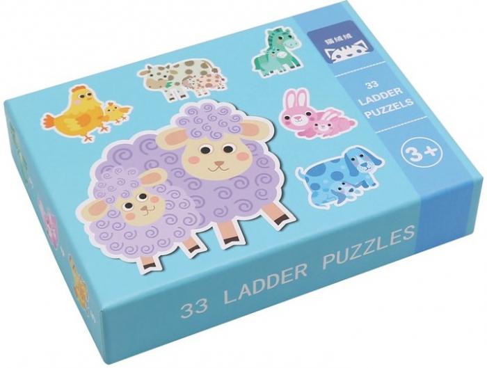 Set de 6 Puzzle-uri Animale de la ferma [1]