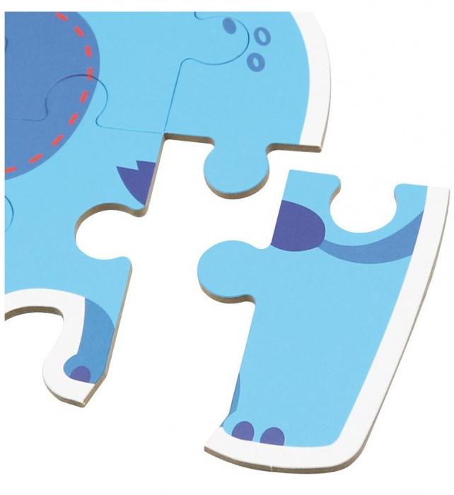 Set de 6 Puzzle-uri Animale din Savana [2]