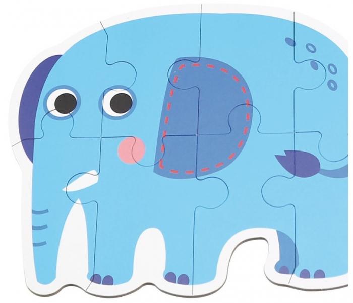 Set de 6 Puzzle-uri Animale din Savana [3]